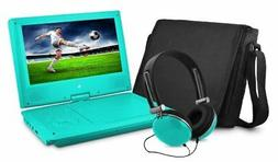 Ematic EPD909 Portable DVD Player - 9 Display - 640 x 234 -