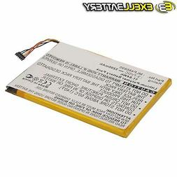 Exell 3.7V Li-Polymer  Battery For VIEWSONIC Zoompad Tablets