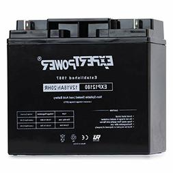 ExpertPower EXP12180 12 Volt 18 Ah Rechargeable Battery with