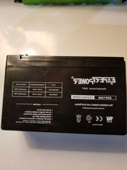 Expert power 12V/9AH/20 HR Rechargeable lead acid battery F2