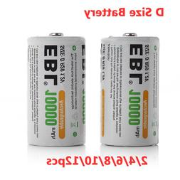 <font><b>EBL</b></font> 1.2v D Size <font><b>Battery</b></fo