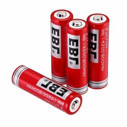 <font><b>EBL</b></font> 4-Pack 14500 <font><b>Battery</b></f