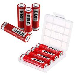 <font><b>EBL</b></font> 8 Packs 14500 Li-ion <font><b>Rechar