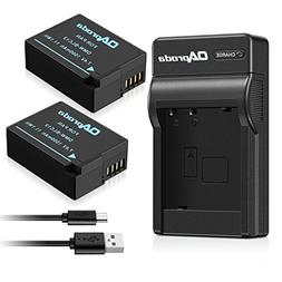 Fully Decoded OAproda DMW-BLC12 Battery  and Micro USB Charg