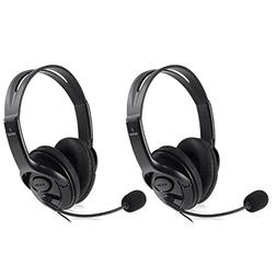 Insten  Gaming Chat Headphones Headsets with Microphine Mic