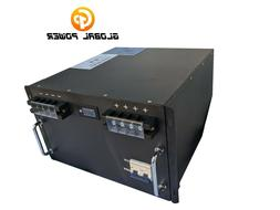Global Power LiFePo4 48V 100AH Power Wall with BMS Prismatic