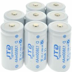 GTL Battery 1-8pcs D Size D-Type 13800mAh 1.2V Ni-MH Recharg