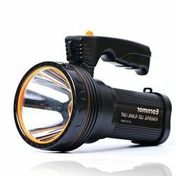 Eornmor Outdoor Handheld Portable Flashlight 6000 Lumens USB