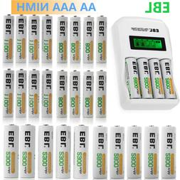 AA AAA Rechargeable Batteries Lot 800mAh 1100mAh /2300mah 28