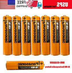 Panasonic HHR-65AAABU NI-MH 630mAh AAA Rechargeable Battery