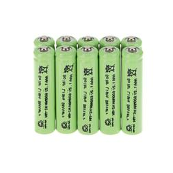 Hot Sale US Green 3A AAA 1.2V 600mAh Ni-MH Household Recharg