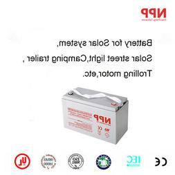 HR12390W 12V 120Ah SLA Rechargeable Battery GH12840 PS-12110