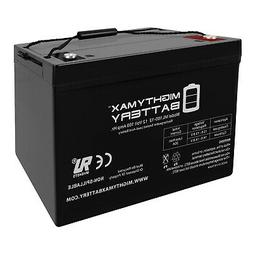 Weize 12V 100AH Deep Cycle Battery For Trolling Motor Home R
