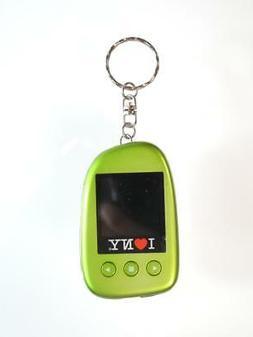 I Love Ny DPV151G 1.5 Digital Photo Keychain - Green