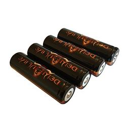 4 Piece IMR 18650 2000mAh 3.7V High Drain LiMn Demonfire Rec