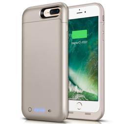 For iPhone 7 Plus 7000mAh Extended Rechargeable Charging Bat