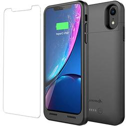 iPhone XR Battery Case with Qi Wireless Charging Compatibili