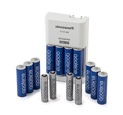 Panasonic K-KJ17MZ104A eneloop Power Pack; 10AA, 4AAA, and A