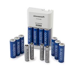 Panasonic K-KJ17MZ104A eneloop Power Pack; 10AA, 4AAA, and A