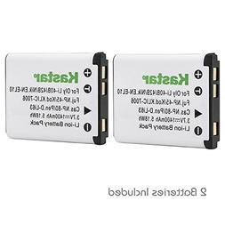 Kastar K7006 Battery  for Kodak KLIC-7006 Nikon EN-EL10 Rech