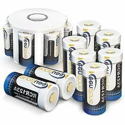 Keenstone 3.7V 700mAh Li-ion Rechargeable RCR123A Battery PC
