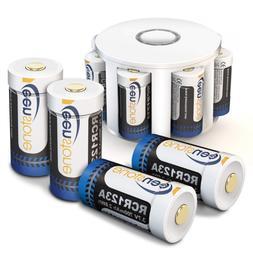 Keenstone 3.7V 700mAh Li-ion Rechargeable RCR123A Battery 8
