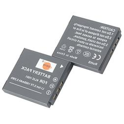 DSTE 2x KLIC-7001 Replacement Li-ion Battery for Kodak Easys
