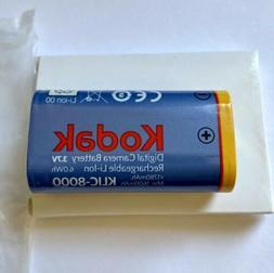Kodak KLIC-8000 Li-Ion Rechargeable Battery for  Z612 ,Z712,