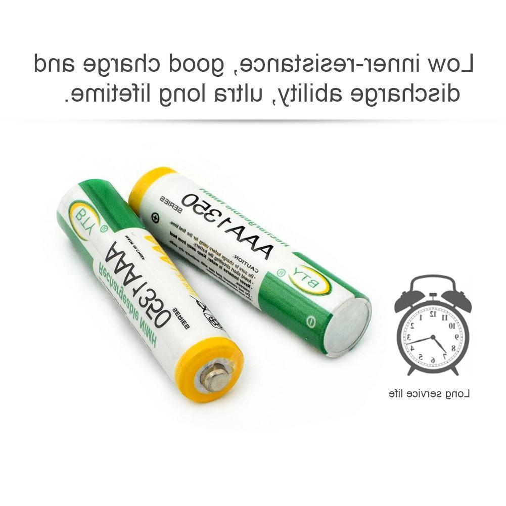 1.2V <font><b>AA</b></font> <font><b>Rechargeable</b></font> <font><b>Batteries</b></font> 2A Li-Po Lithium <font><b>Battery</b></font> <font><b>Battery</b></font> AAA 1350mAH