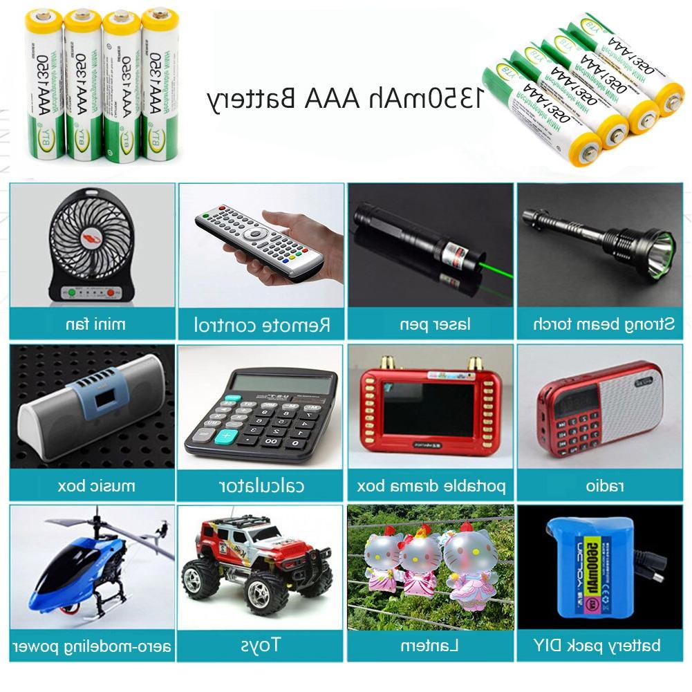 1.2V <font><b>Ni</b></font>-<font><b>MH</b></font> <font><b>AA</b></font> <font><b>Rechargeable</b></font> <font><b>Batteries</b></font> Li-Po <font><b>Battery</b></font> <font><b>Battery</b></font> AAA 1350mAH <font><b>Batteries</b></font>