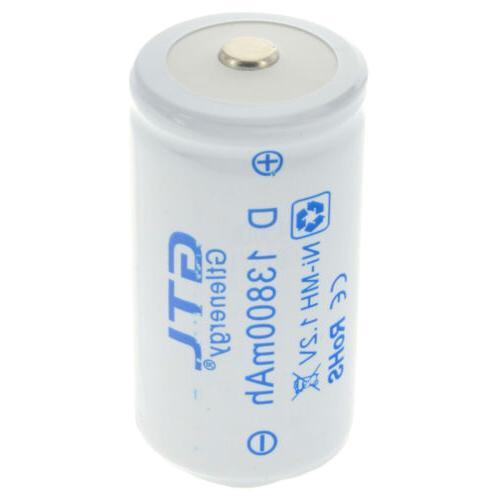 GTL 1-8pcs D D-Type Rechargeable Battery USA