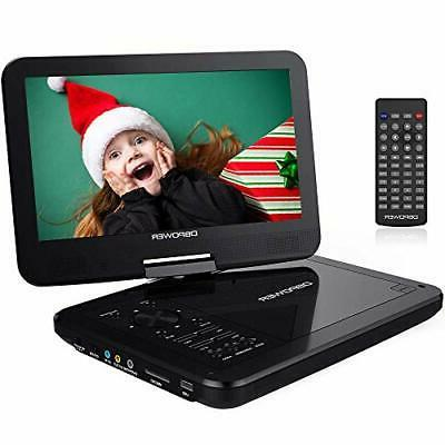 dbpower 12 portable dvd player rechargeable battery