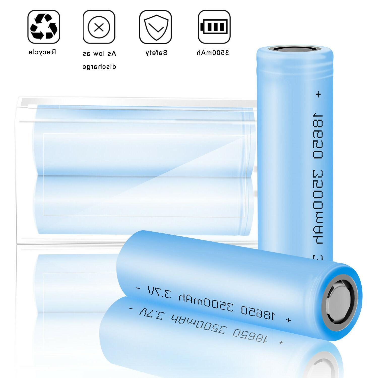 10 Batteries Rechargeable Smok+Case