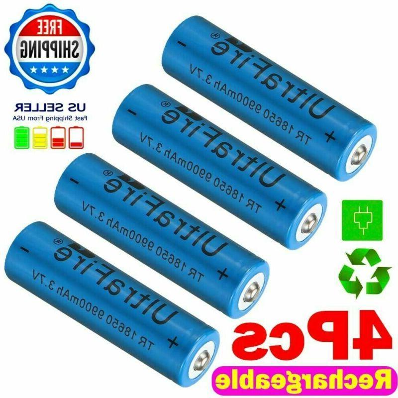 10pcs Rechargeable 9900mAh Battery 3.7V Li-ion Batteries POST