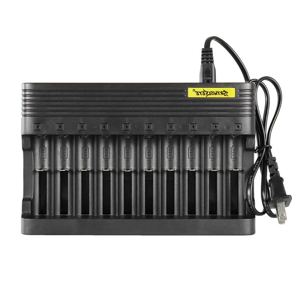 10-slot Charger 18650/16340/14500 US