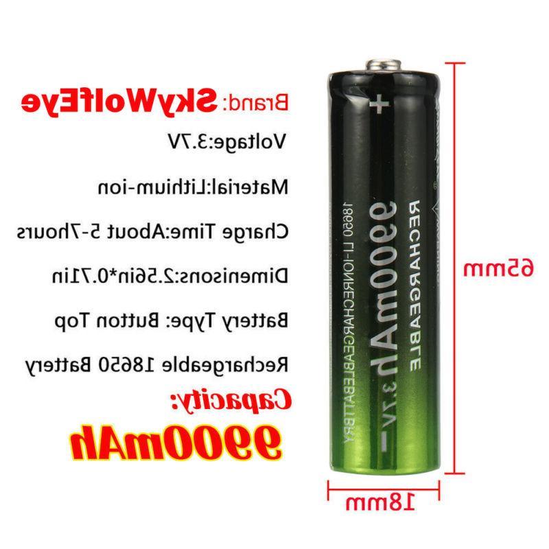 4PCS Li-ion Batteries Cell USA-