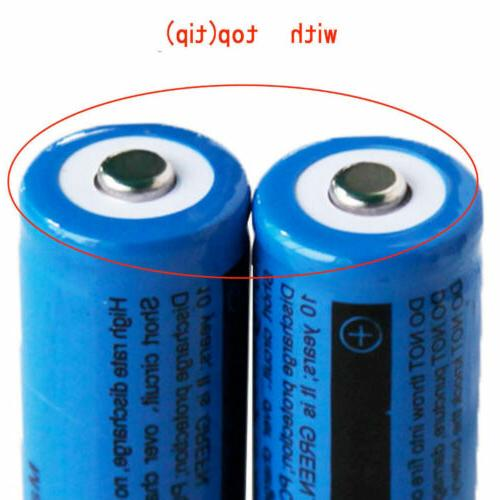 4X Ultrafire 18650 6000mAh Rechargeable Batteries Charger
