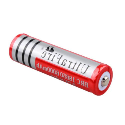 10X Battery 3.7V For Flashlight