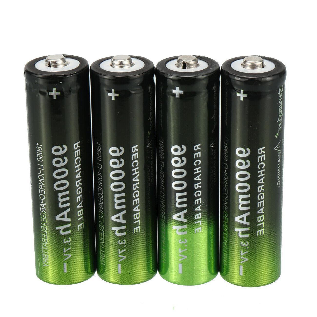 10X Battery 3.7V Li-Ion LED Headlamp