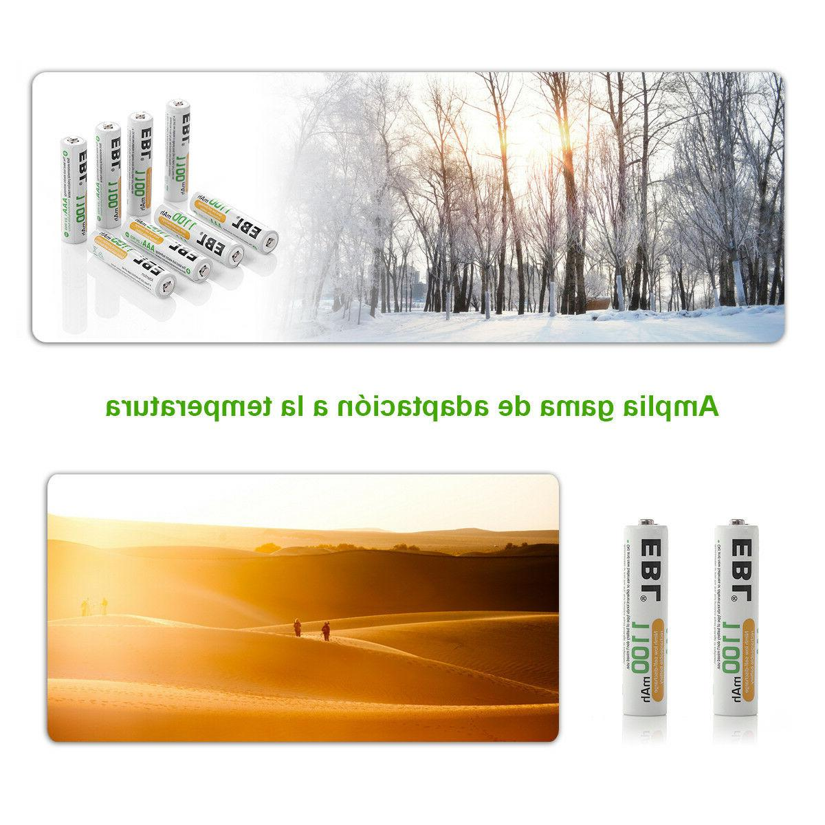 EBL Batteries 8 Slot AAA Charger