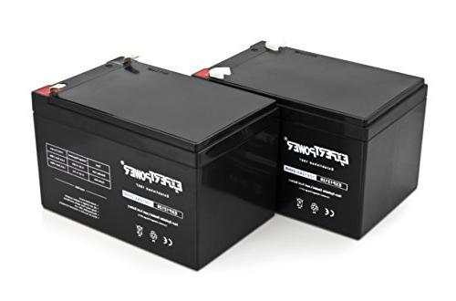 2 Pack Volt Battery || 2 Pack 12V 12