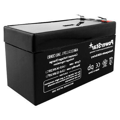 PowerStar Battery Rechargeable UB1213, D5738 US
