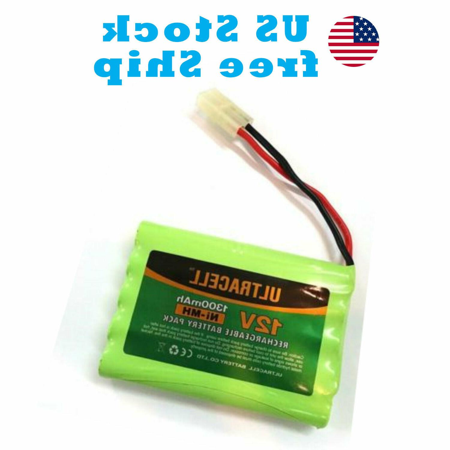 12v 1300mah ni mh rechargeable battery pack