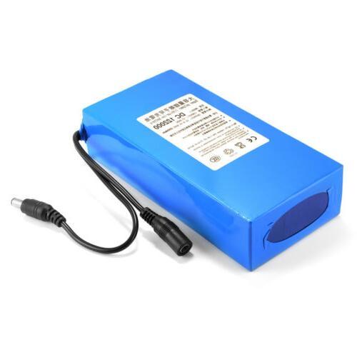 12V Lithium Li-ion Battery PLUG