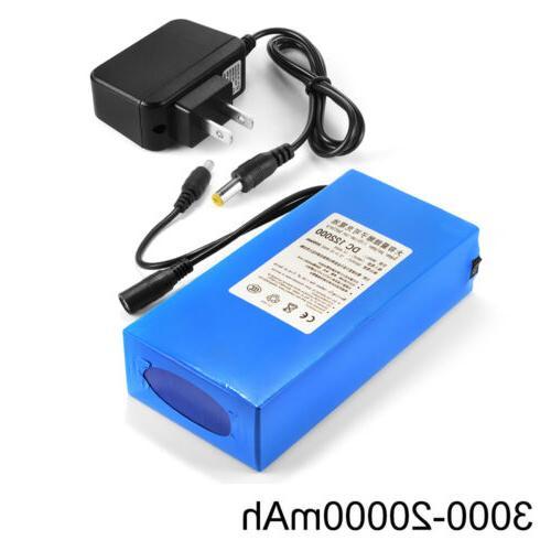 12v 3000 20000mah lithium rechargeable li ion