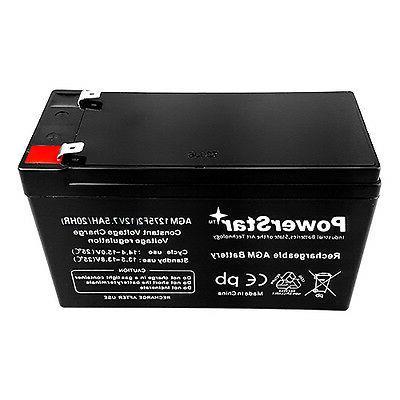 12V AGM 12 VRLA Battery