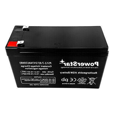 12V 7Ah Replacement for 12V 7.0Ah