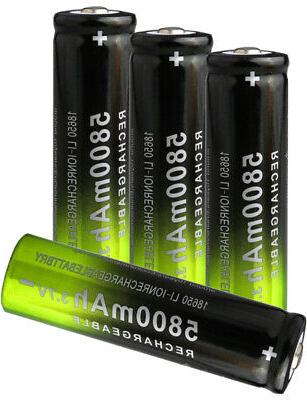 12X Rechargeable 5800mAh Business LOT