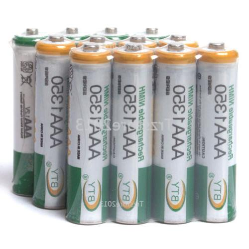 1350mAh 1.2V Ni-MH  AAA Household Rechargeable Batteries For