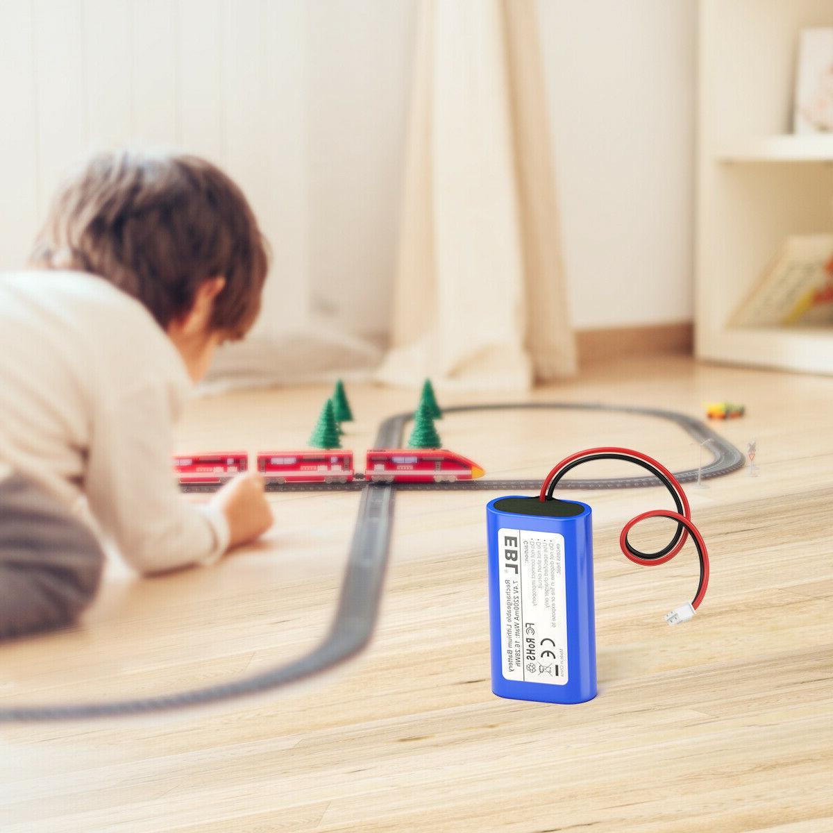 EBL 7.4V 2200mAh Rechargeable Batteries Replacement Toys Electronics